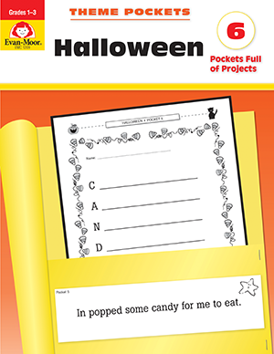 Picture of Theme Pockets: Halloween, Grades 1-3 - Teacher Reproducibles, E-book