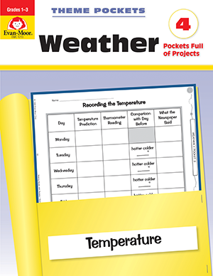 Picture of Theme Pockets: Weather, Grades 1-3 - Teacher Reproducibles, E-book