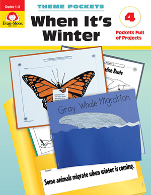Picture of Theme Pockets: When It's Winter, Grades 1-3 - Teacher Reproducibles, E-book