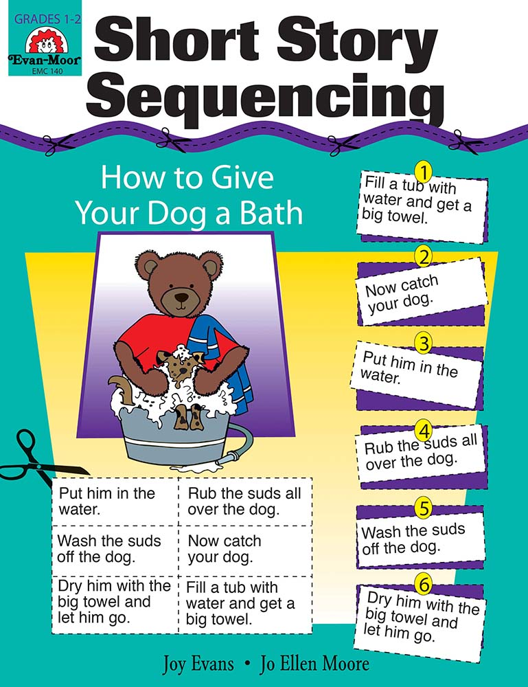 Picture of Short Story Sequencing, Grades 1-2 - Teacher Reproducibles, Print