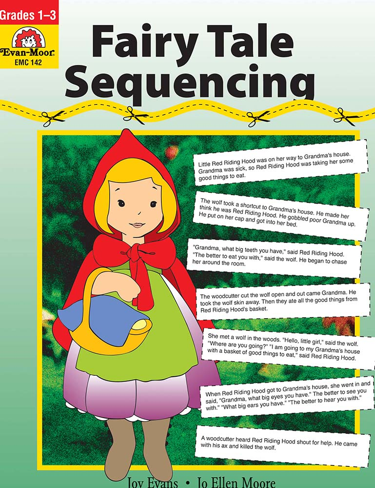 Picture of Fairy Tale Sequencing, Grades 1-3  - Teacher Reproducibles, Print