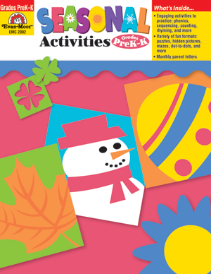Picture of Seasonal Activities, Grades PreK-K - Teacher Reproducibles, Print
