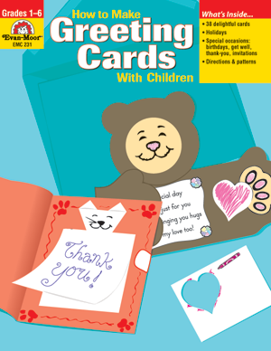 Picture of How to Make Greeting Cards with Children, Grades 1-6 - Teacher Resource, E-book
