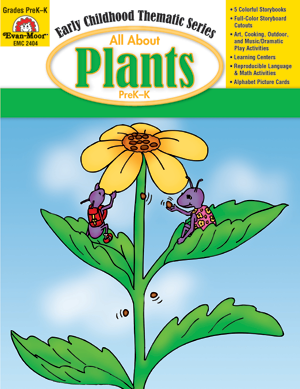Picture of All About Plants, Grades PreK -K - Teacher Reproducibles, E-book