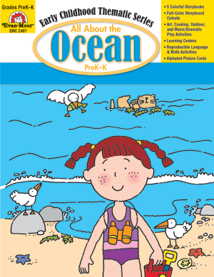 Picture of All About the Ocean, Grades PreK -K - Teacher Reproducibles, E-book