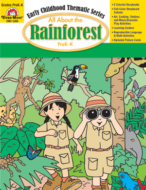 Picture of All About the Rainforest, Grades PreK -K -Activity Book, E-Book