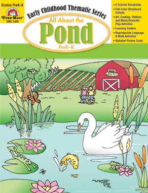 Picture of All About the Pond, Grades PreK -K -Activity Book, E-Book