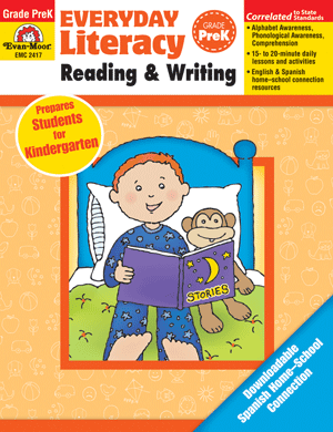 Picture of Everyday Literacy: Reading and Writing, Grade PreK  - Teacher Reproducibles, Print