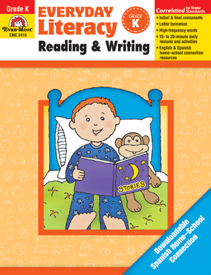 Picture of Everyday Literacy: Reading and Writing, Grade K - Teacher Reproducibles, E-book
