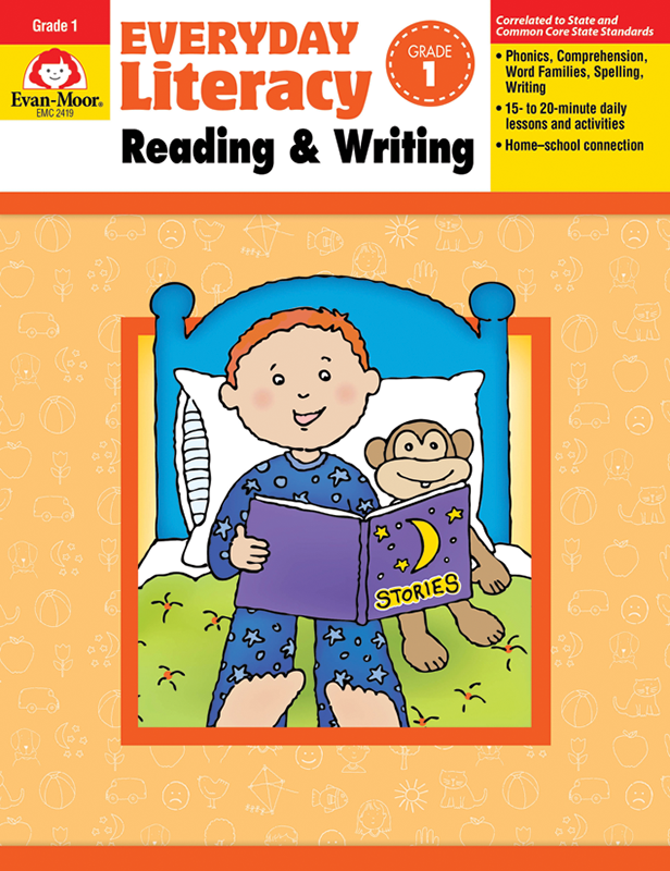 Picture of Everyday Literacy: Reading and Writing, Grade 1 - Teacher Reproducibles, E-book