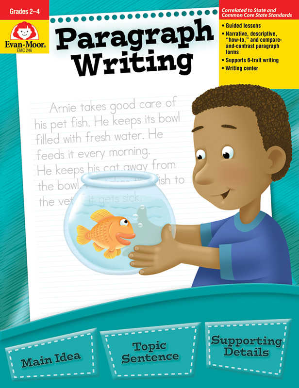 Picture of Paragraph Writing, Grades 2-4 - Teacher Reproducibles, E-book