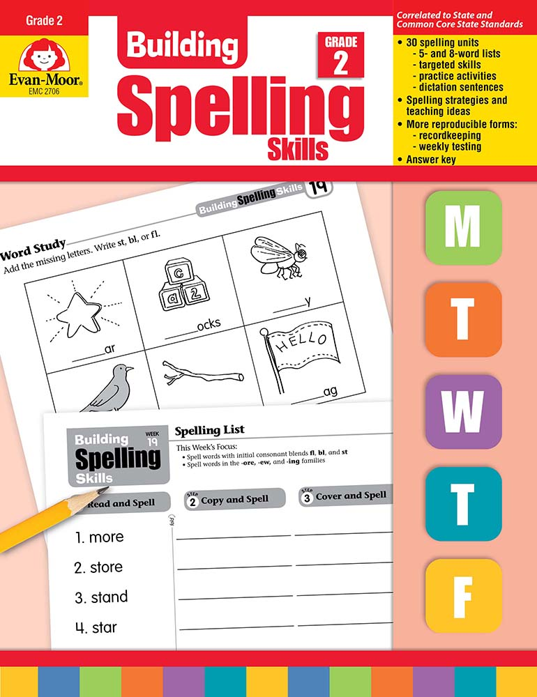 Picture of Building Spelling Skills, Grade 2 - Teacher's Edition, Print