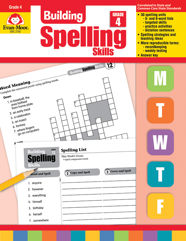 Picture of Building Spelling Skills, Grade 4 - Teacher's Edition, E-book