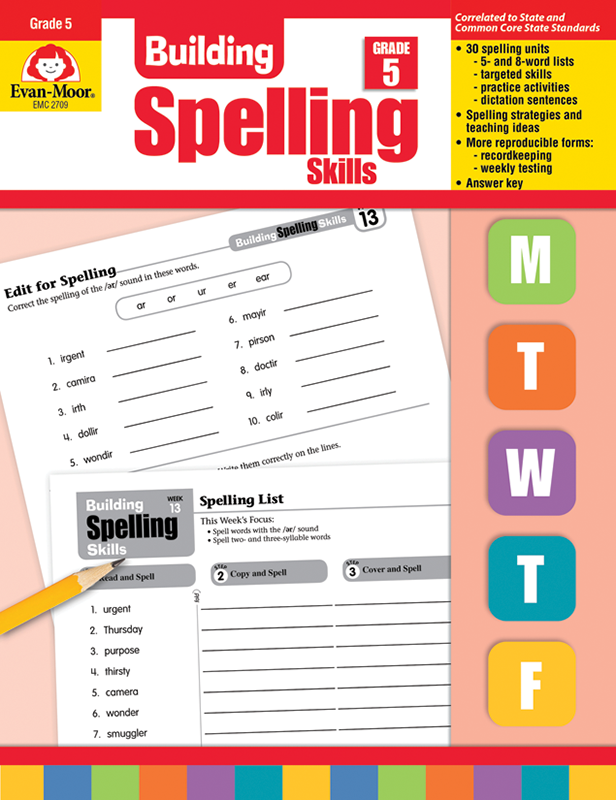 Picture of Building Spelling Skills, Grade 5 - Teacher's Edition, E-book