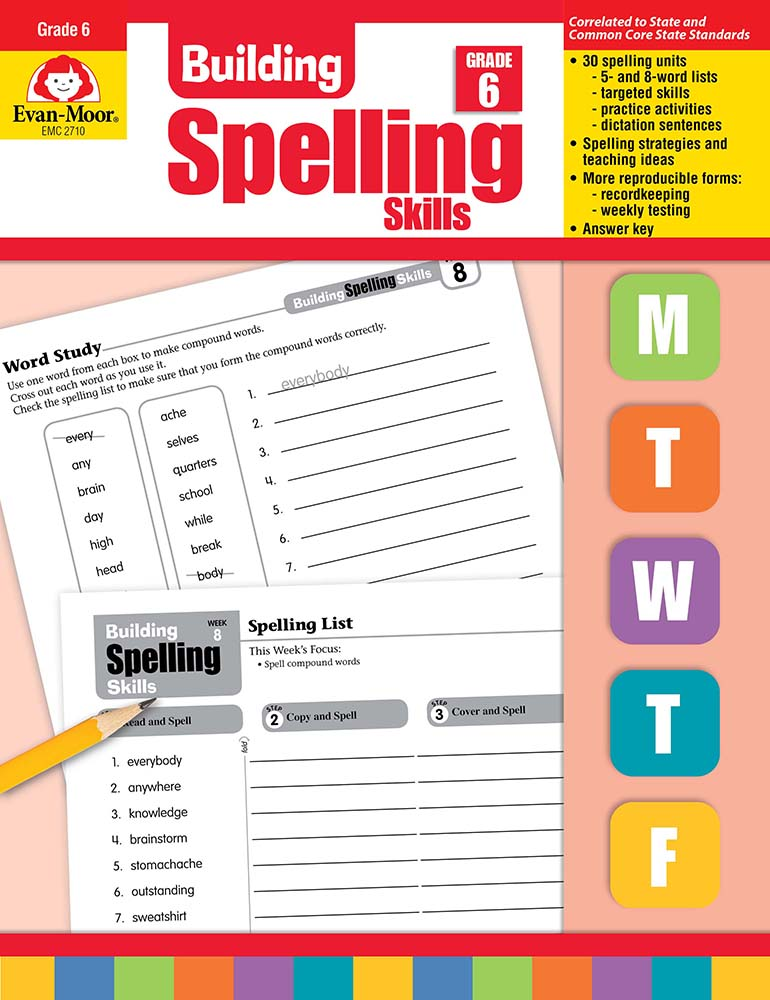 Picture of Building Spelling Skills, Grade 6 - Teacher's Edition, Print