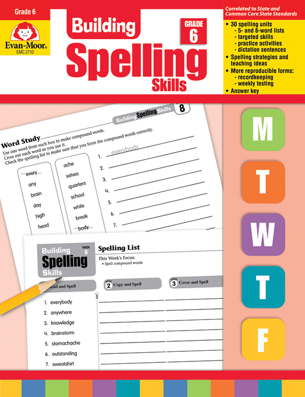 Picture of Building Spelling Skills, Grade 6 - Teacher's Edition, E-book