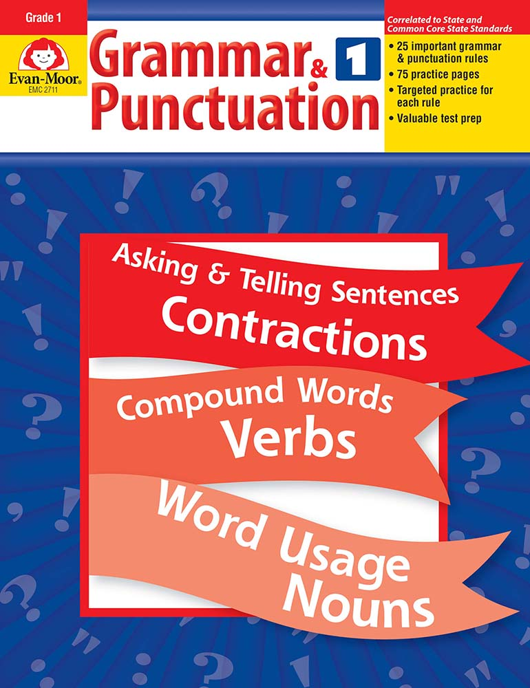 Picture of Grammar & Punctuation, Grade 1 - Teacher Reproducibles, Print