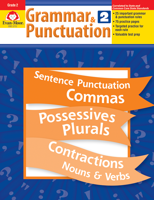 Picture of Grammar & Punctuation, Grade 2 - Teacher Reproducibles, E-book