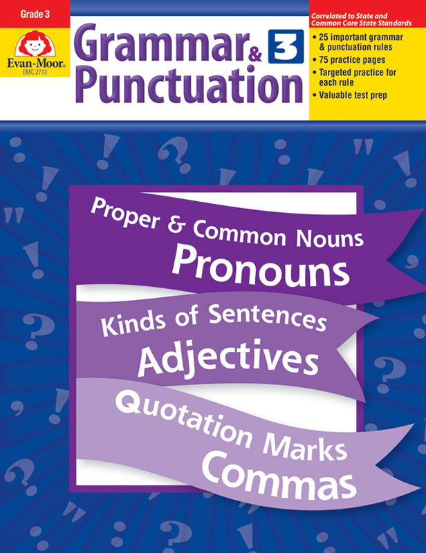 Picture of Grammar & Punctuation, Grade 3 - Teacher Reproducibles, E-book