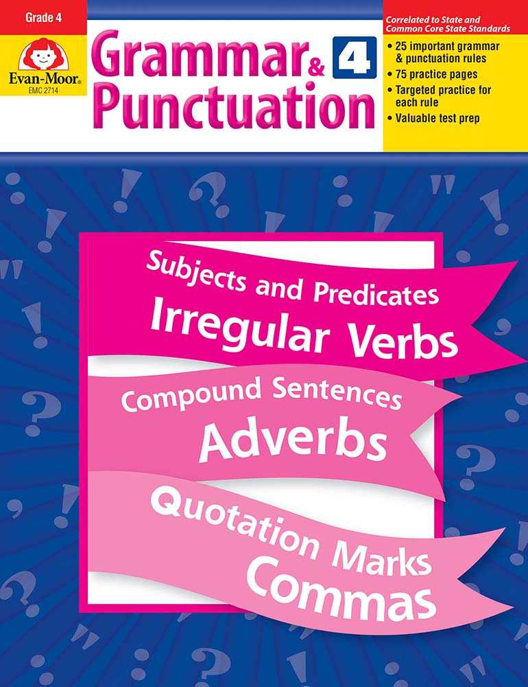 Picture of Grammar & Punctuation, Grade 4 - Teacher Reproducibles, Print