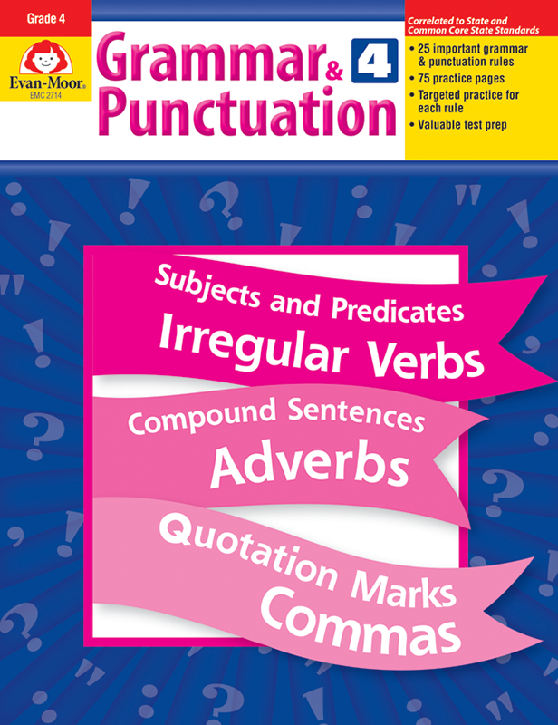 Picture of Grammar & Punctuation, Grade 4 - Teacher Reproducibles, E-book