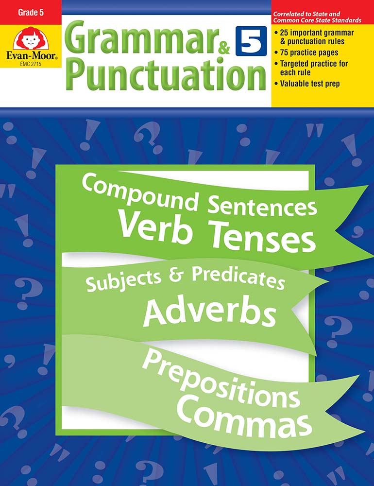 Picture of Grammar & Punctuation, Grade 5 - Teacher Reproducibles, Print