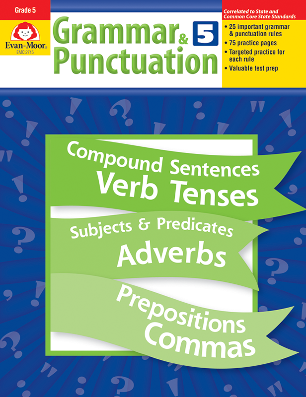 Picture of Grammar & Punctuation, Grade 5 - Teacher Reproducibles, E-book