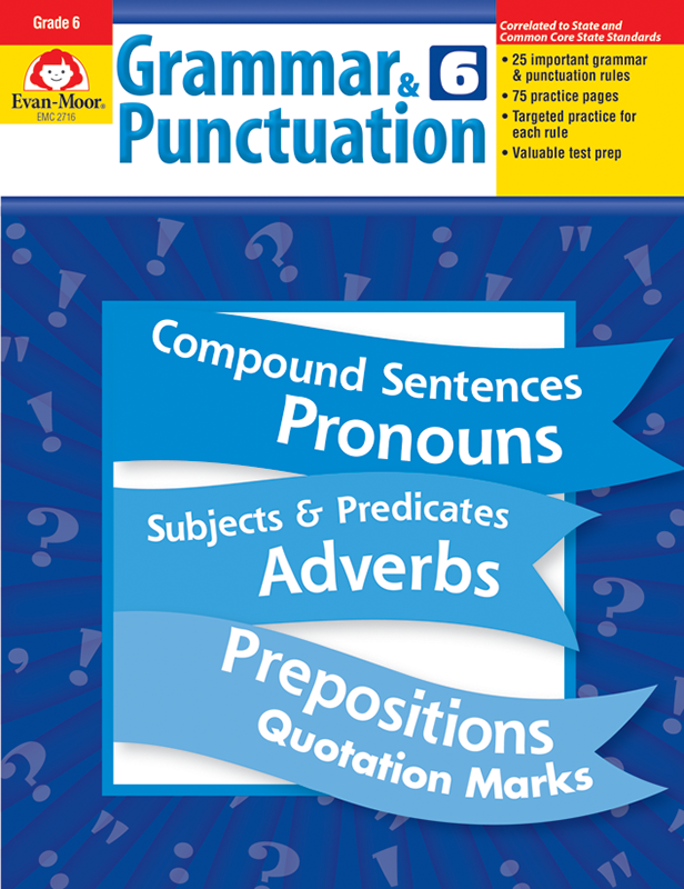 Picture of Grammar & Punctuation, Grade 6 - Teacher Reproducibles, E-book