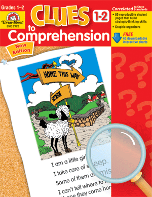 Picture of Clues to Comprehension, Grades 1-2 - Teacher Resource Book
