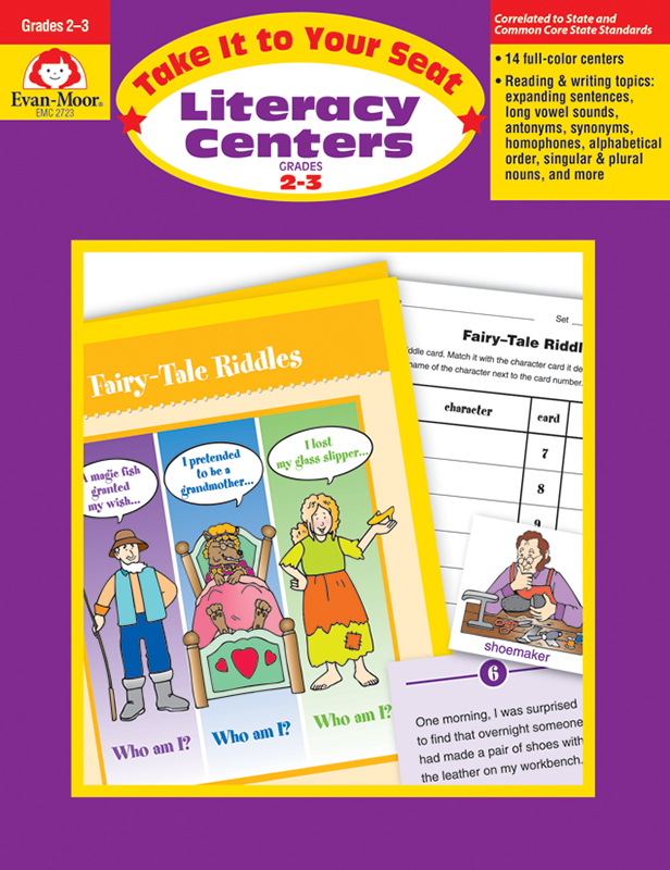 Picture of Take It To Your Seat: Literacy Centers, Grades 2-3 - Teacher Resource, E-book