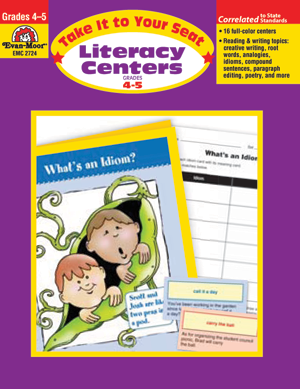 Picture of Take It To Your Seat: Literacy Centers, Grades 4-5 - Teacher Resource, Print