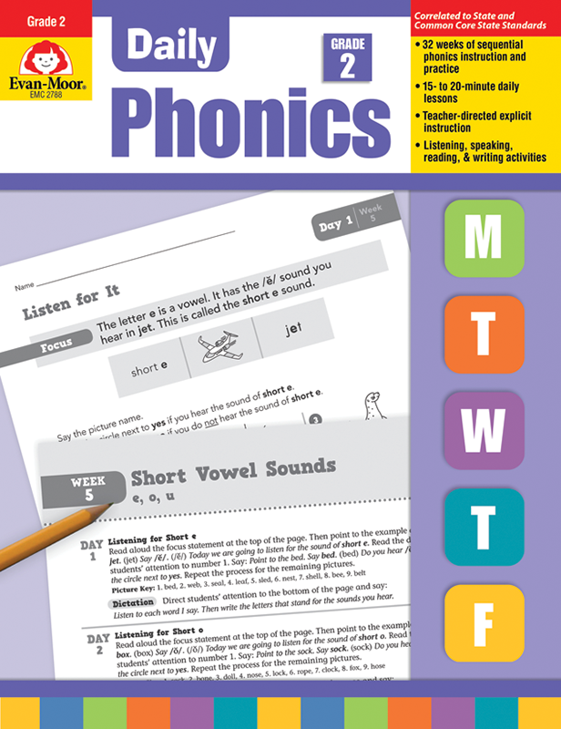 Picture of Daily Phonics, Grade 2 - Teacher's Edition, E-book