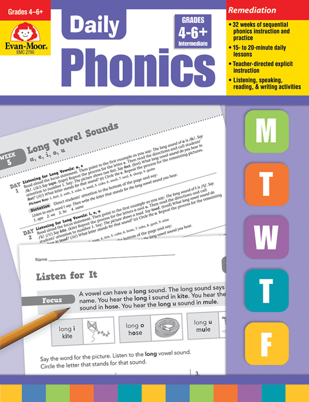 Picture of Daily Phonics, Grades 4-6+ - Teacher's Edition, E-book