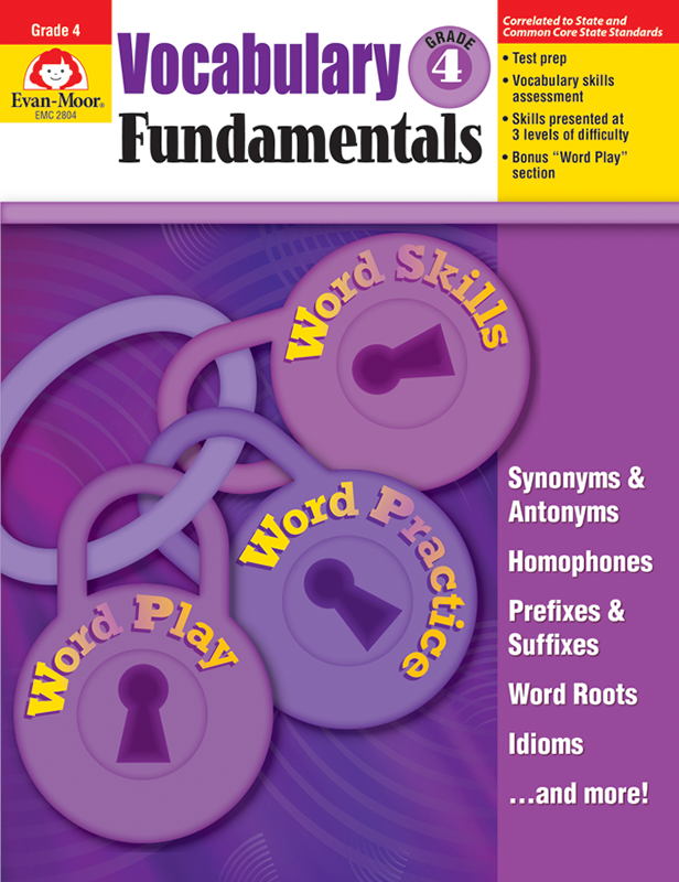 Picture of Vocabulary Fundamentals, Grade 4 - Teacher Reproducibles, E-book