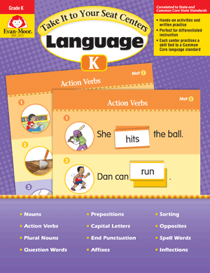 Picture of Take It to Your Seat: Language Centers, Grade K - Teacher Reproducibles, E-book
