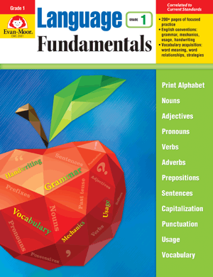 Picture of Language Fundamentals, Grade 1 - Teacher Reproducibles, E-book