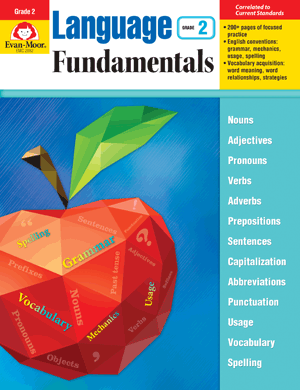 Picture of Language Fundamentals, Grade 2 - Teacher Reproducibles, E-book
