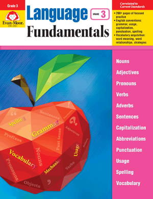 Picture of Language Fundamentals, Grade 3 - Teacher Reproducibles, E-book
