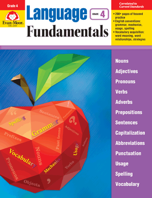 Picture of Language Fundamentals, Grade 4 - Teacher Reproducibles, E-book