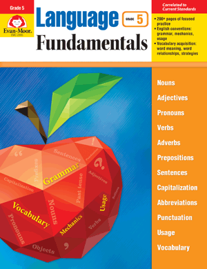 Picture of Language Fundamentals, Grade 5 - Teacher Reproducibles, E-book