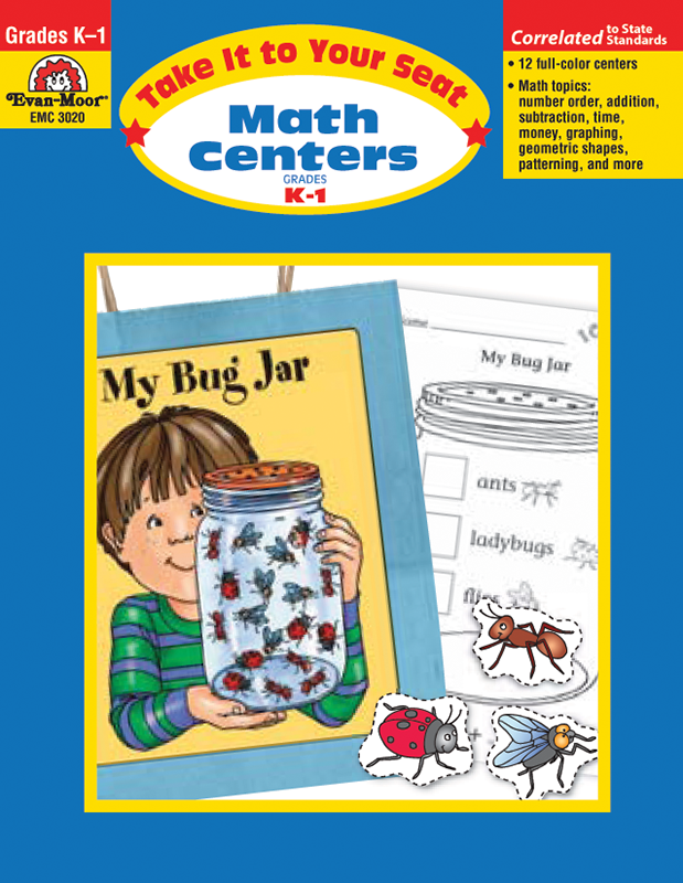 Picture of Take It To Your Seat: Math Centers, Grades K-1 E-book