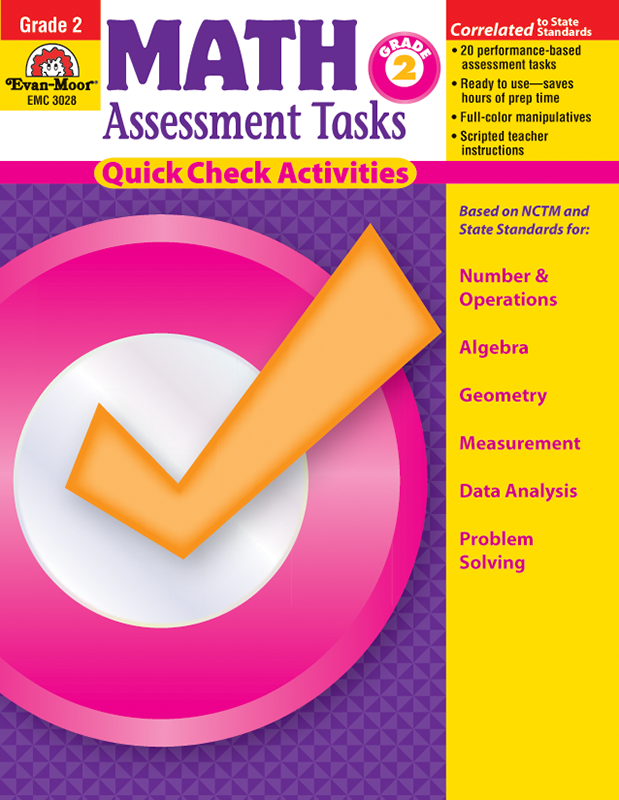 Picture of Math Assessment Tasks, Grade 2 - Teacher Resource, E-book