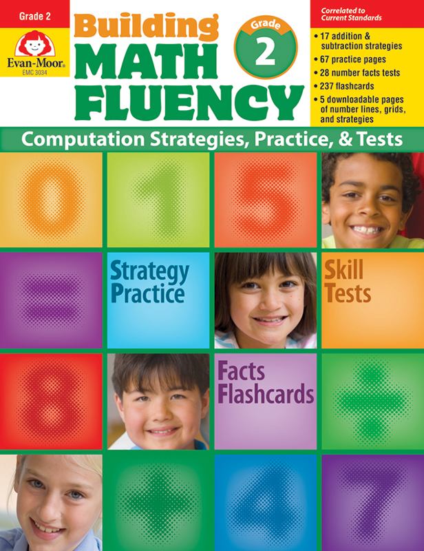 Picture of Building Math Fluency, Grade 2 - Teacher Reproducibles, E-book