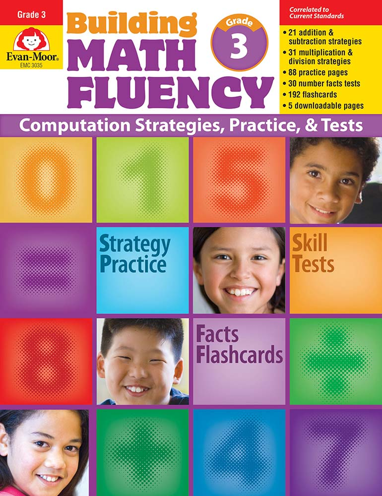 Picture of Building Math Fluency, Grade 3 - Teacher Reproducibles, Print