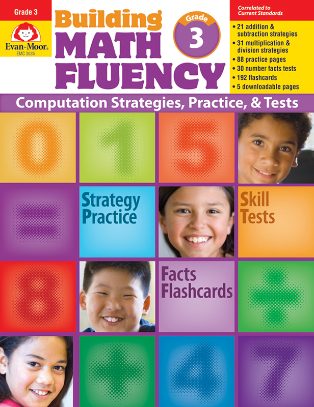 Picture of Building Math Fluency, Grade 3 - Teacher Reproducibles, E-book