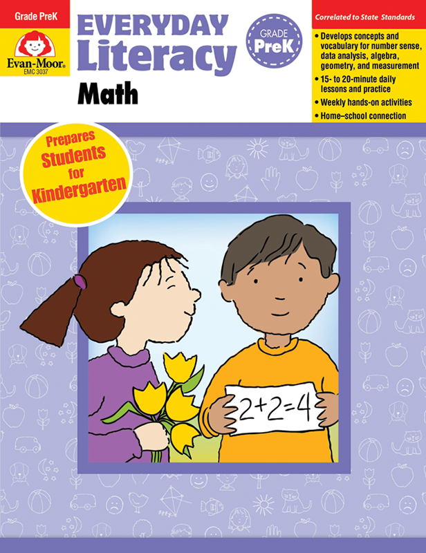 Picture of Everyday Literacy: Math, Grade PreK - Teacher's Edition, E-book