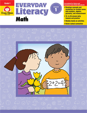 Picture of Everyday Literacy: Math, Grade 1  - Teacher Reproducibles, Print