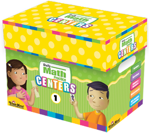 Picture of Daily Math Practice Centers, Grade 1 - Classroom Resource Kit