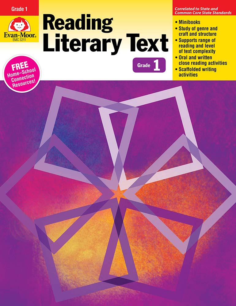 Picture of Reading Literary Text, Grade 1 - Teacher's Edition, Print