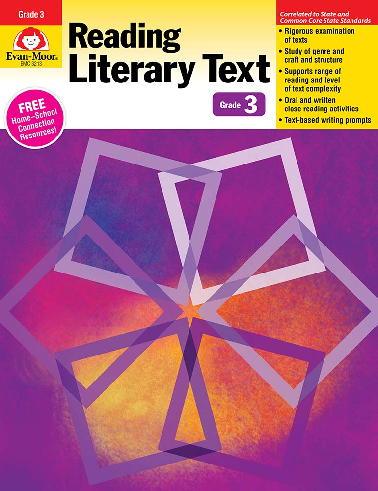 Picture of Reading Literary Text, Grade 3 - Teacher's Edition, Print